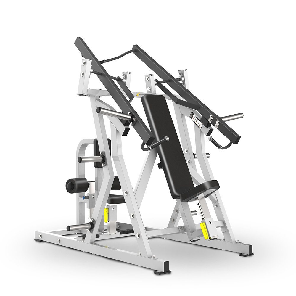 Seated chest press&lat pull down